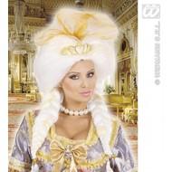 Feestaccessoires: Pruik Fantasy Queen met tiara