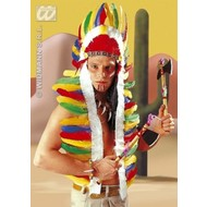 Partyartikelen: Indianentooi lang, 160cm