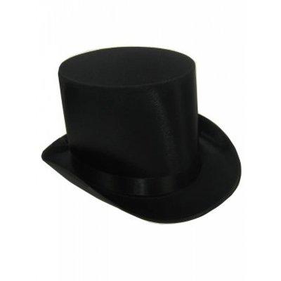 Hoge hoed van satijn