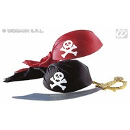 Party hoofddeksels: Piratenmuts