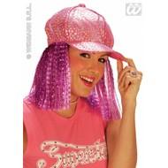 Partyartikelen Sterrenmuts neon met haar