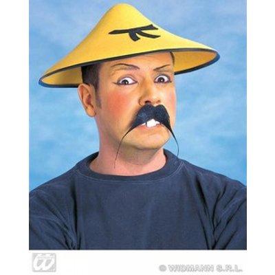 Chinese hoed met karakter