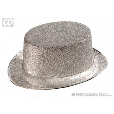Hoge hoed zilver of goud