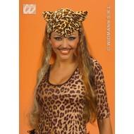 Party-accessoires: Hoofddeksel luipaard