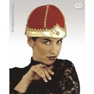 Party-accessoires: Stoffen kroon koningin