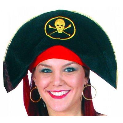 Piratenhoeden met doodskop