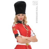 Party-accessoires: Hoed Royal guard pluche