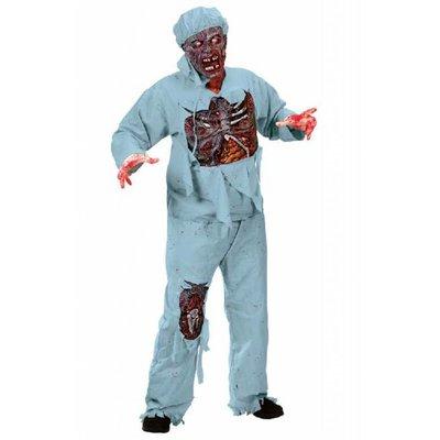 Doctor Zombie kostuum met masker