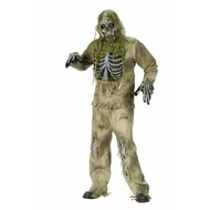 Griezelkleding: Zombie-skeletar