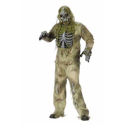 Zombie of skelet kostuums
