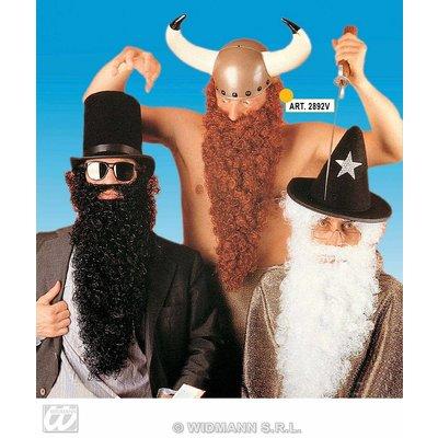 Vikingbaard met snor