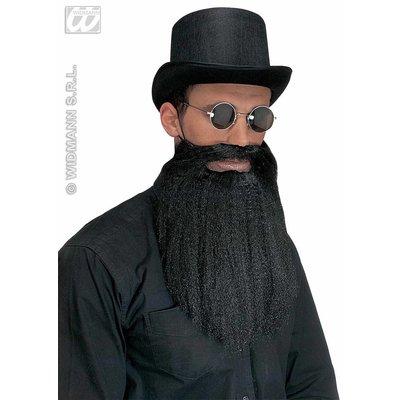 Joodse baard met snor