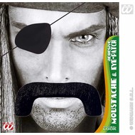 Vermommingen: Snor piraat met ooglap