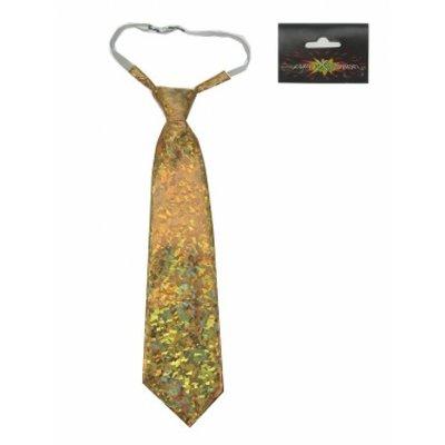 Gouden holografische stropdassen