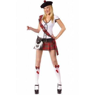Schotse jurk voor dames