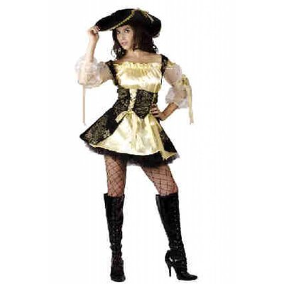 Prachtige piraten jurk