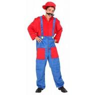 Feestkleding: Super Mario kostuum