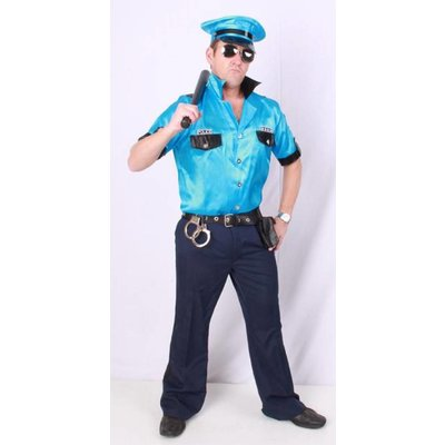 Stoer Amerikaans politie kostuum