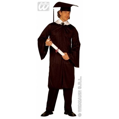 Afgestuurde studenten kostuum