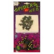 Schrik-me-rot artikelen: MiniDirty spiders in web