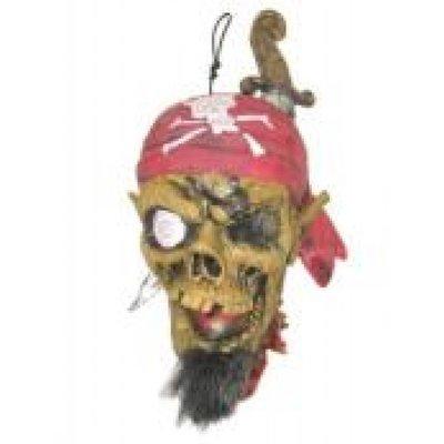 Onthoofd hoofd piraat als decoratie