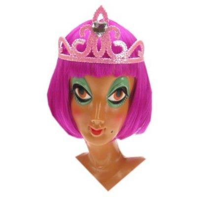 Roze  kroontjes voor henparty's