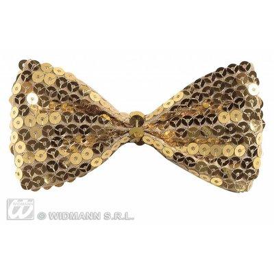 Gouden gala vlinderstrikjes