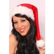 Kerstmuts: kerstmuts in plushe