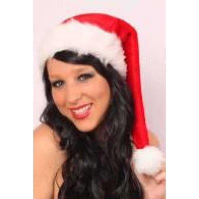 Kerstmuts van pluche