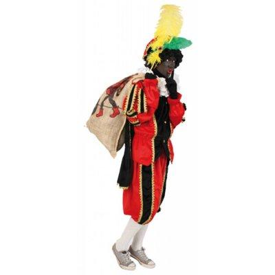 Zwarte Pietenpak ook voor kleuren Piet