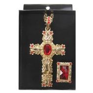 Sinterklaaskleding: Kruis met ring