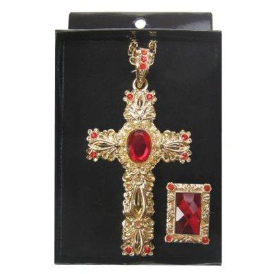 Kruis met ring voor Sinterklaas