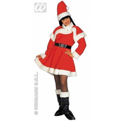 Luxe uitvoering kerstvrouw jurkjes