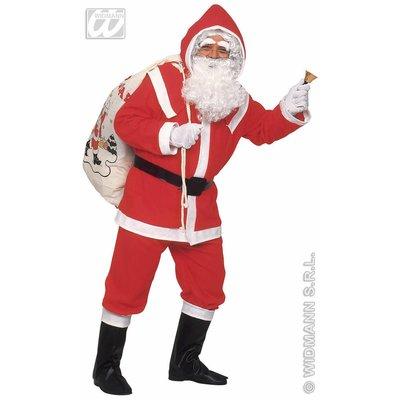 Kerstmannen pak van flanel