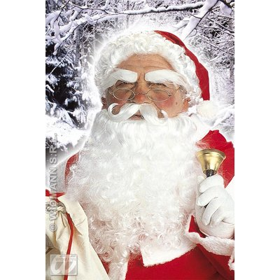 Luxe kerstmannen baardenset