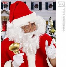 Seizoensartikelen: Kerstman-set baard met snor