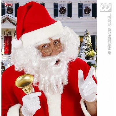 Kerstman-set baard met snor