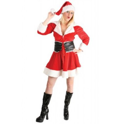 Luxe kerstvrouw jurkjes