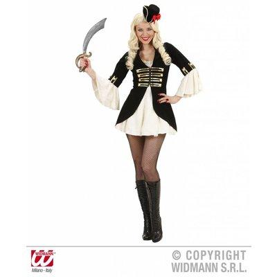 Sexy piratenkapiteins feestkleding