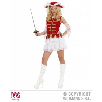 Musketier-meisje kostuum
