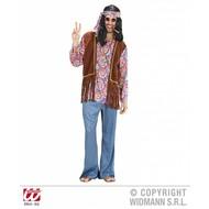 Vrijgezellen-outfit: Hippie man psychedelisch