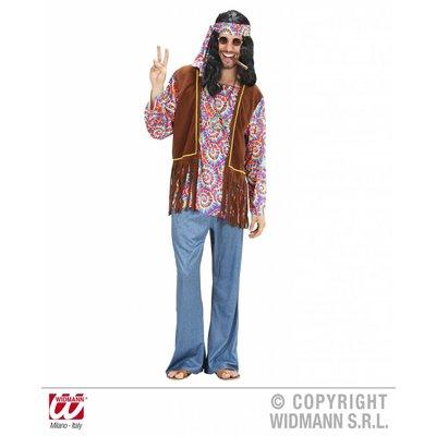 Hippie kostuum psychedelische man