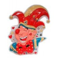 Vrijgezellen-outfit: clowndeco prins