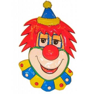 Wanddecoratie vrolijke clown