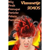 "Carnaval- & feest accessoires: Pruik ""Flame"""