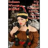 Carnaval- & feest accessoires: Indianenpruik Winnie (vrouw)