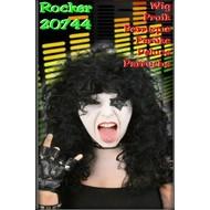 Carnaval- & feest accessoires: Pruik Rocker Girl