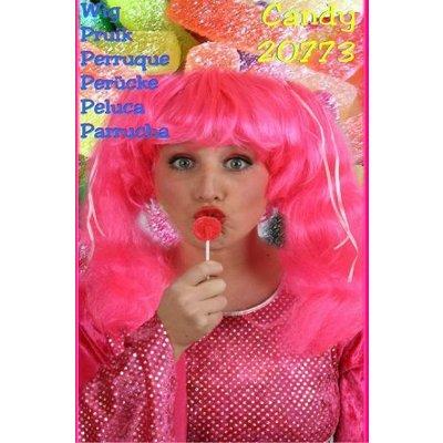 Roze Barbie pruiken