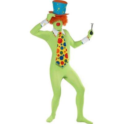 Second skin Clowntjes kostuum
