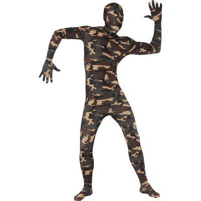 Second skin soldaat van Oranje kostuum